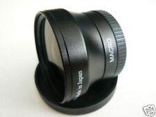 BK 37mm 0.45X Wide-Angle Lens For CANON HF11 HF20 HF200 HF10 HF100 HG20 HG21