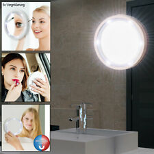 Make-Up Mirror with LED Lighting Swivel-Mounted Bath Wall Light 5x Magnification