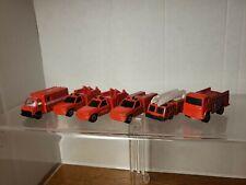 Lot of 6 Maisto Fire Emergency Vehicles Trucks Ambulances  Maisto
