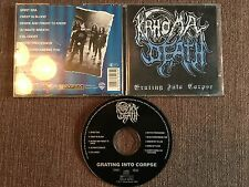 KRHOMA DEATH Grating Into Corpse CD 1st Pr Crypta 1994 OOP Epitaph Sororicide