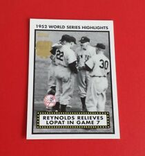 2002 Topps Baseball 1952 World Series Highlights Card #52WS-7*New York Yankees*