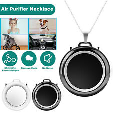 Air Purifier USB Portable Personal Wearable Necklace Negative Ionizer Cleaner US