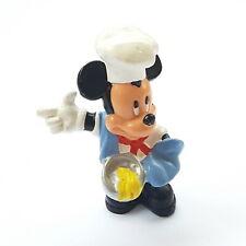 Figurine Walt Disney Donald & Mickey Bullyland Mickey Chef Cook 2 13/16in