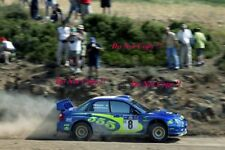 Tommi Makinen Subaru Impreza WRC2003 Acropolis Rally 2003 Photograph 2