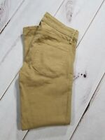 "GAP 1969 Women's Always Skinny Jeans Stretch Brown Side Zipper 26 Inseam 27"""