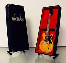 Johnny Thunders: Gibson Melody Maker - Guitar Miniature Replica (UK Seller)