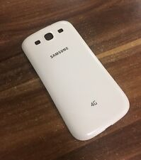 Original ! Samsung Galaxy S3 I9300 I9305 Backcover Akku Deckel Weiß/White !!