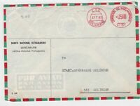mocambique 1963 airmail  stamps cover  Ref 10019