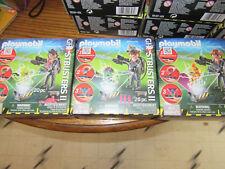 3 sets Playmobil Ghostbusters spengler stanz Venkman 9346 9347 9348 New sealed