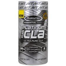 Muscletech 100% Pure Platinum CLA 800mg 90 Caps ESSENTIAL SERIES ANTI CATABOLIC