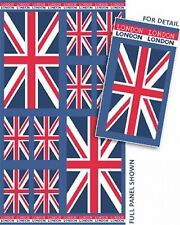 Cool Britannia London Union Jack Bandera Tela De Algodón Acolchado Panel-Benartex