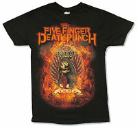 Five Finger Death Punch I.M. Sin Black T Shirt New Official Adult Band 5FDP