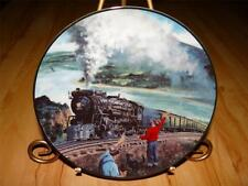"""""""The Sunshine Special Limited"""" GREAT AMERICAN TRAINS by Jim Deneen Plate"""