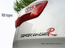 [Kspeed] (Fits: Kia Sportage R)  R logo Emblem Clear type