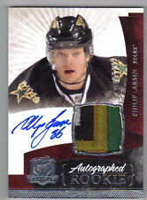 10-11 Philip Larsen The Cup Auto Rookie Card RC #128 Sweet 4 Color Patch 085/249
