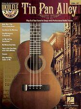 Ukulele Play-Along Tin Pan Alley Play Broadway Songs tunes UKE Music Book & CD