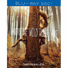 Where the Wild Things Are Blu-ray DVD New Sealed