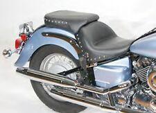 Yamaha V-Star 650 Classic/Silverado - Mustang® WIDE chrome studded 2-piece seat