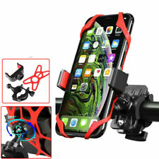 Motorcycle Bicycle MTB Handlebar Cell Phone GPS PDS Mount Holder Bracket Red