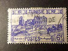 TUNISIE 1945, timbre 289, AMPHITHEATRE, oblitéré, VF stamp