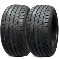 2 New Lionhart LH-Five 245/40ZR20 99W LX All Season Ultra High Performance Tires