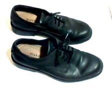 David Taylor Black Dress Shoes Cap Toe Lace Up Leather Upper Men's Size 10