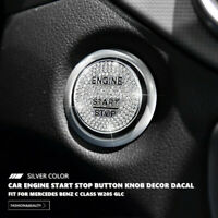 Diamond Car Engine Start Stop Button Cover Cap Trim For Mercedes Benz GLC W205