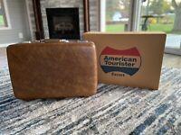 American Tourister Luggage Large Suitcase Brown w/ Original Box - 6024 Pullman