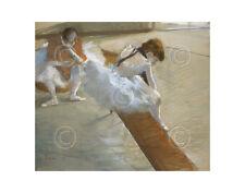 DANCE ART PRINT - Dancers Resting, 1881-85 by Edgar Degas Ballet Poster 14x11