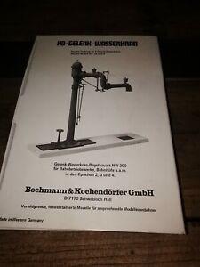 Bochmann und Kochendörfer GmbH H0-Gelenk-wasserkran 33.002.4