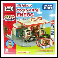 Tomica Town SET Scene Gas Station ENEOS Toy City Tomy