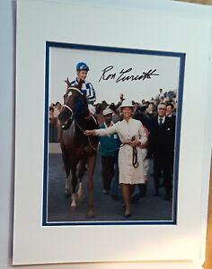 Secretariat Penny Chenery Ron Turcotte 11x14 Matted 8x10 Photo Reprint Signature