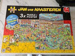 Jan Van Haasteren 3 X Jigsaw Pack 1x 500 1x 750 1 X 1000 Sealed