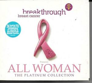 """All Woman  """" The Platinum Collection"""" 3CDs"""