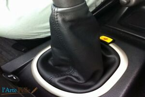 Gear Stick Gaiter Land Rover Freelander From 2003 A 2006 Real Leather Black