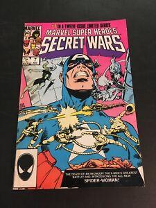 MARVEL SUPER HEROES SECRET WARS #7 1984 MARVEL 1ST JULIA CARPENTER GD/VG copy1