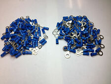 PANDUIT Ring Term,#8 (M4) Stud and 1/4 (M6) Stud 100 Each, PN14-8R-C, PV14-14R-C