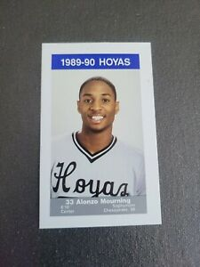 1989-90 Georgetown #11 Alonzo Mourning