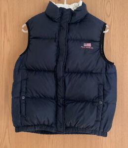 Womens Ralph Lauren Jeans Puffer Puffa Jacket Gilet Bodywarmer - Large - Down