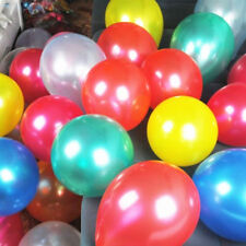 "12"" PEARLISED HELIUM Latex Balloons Party Supplies Wedding Birthday Decorations"