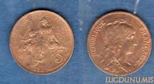 III République, 1871-1940 – 5 Centimes Daniel-Dupuis 1898 SUP +++