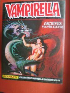 DYNAMITE INTEGRALE VAMPIRELLA ARCHIVES VOLUME 11 ( 72 à 79 ) 2015 QUASI NEUF