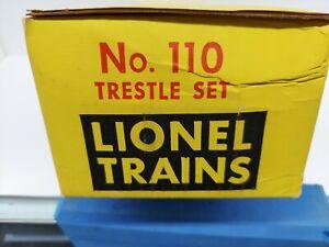 Lionel Trestle Set # 110