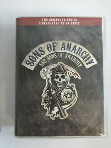 Sons Of Anarchy: The Complete Series 30 Disc Set  (DVD, 2018) Canadian Edition