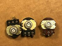 Marantz 2500 Set of 3 Rear Level Potentiometers - Vintage Monster Receiver parts