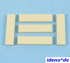 LEGO Star Wars architettura City 5 PZ. piastrella 1 x 4 Tan 2431 Beige 4550324 NUOVO