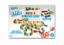 Blasts Domino Building Game 120 Pieces - Domino Train Accessories Pack christmas