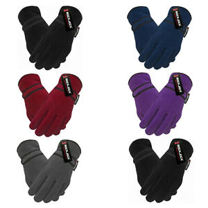 Ladies Womens Fleece R40 Advance Thermal Insulated Soft Extra Warm Winter Gloves