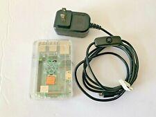 Raspberry Pi 3 Model B+ Quad core 1.4GHz 16GB MicroSD Clear Case & Power Supply