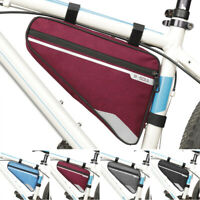 Waterproof Triangle Cycling Bike Bicycle Front Tube Frame Saddle Bag Pouch